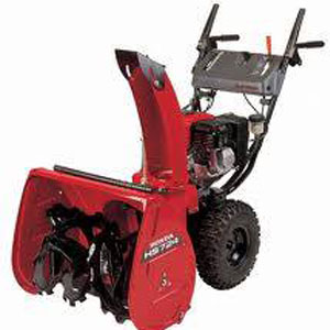 Equipment snow blower